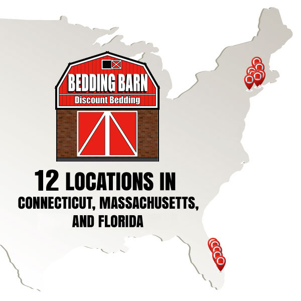 Bedding Barn has 16 locations in 4 states.