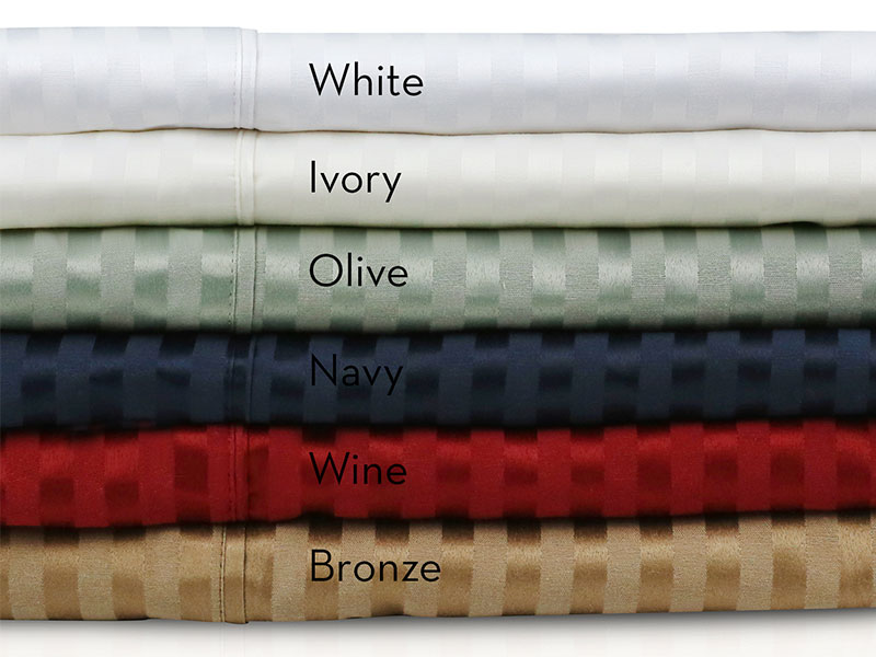 Bedding Barn Malouf 300 Tc Premium Cotton Blend Sheets