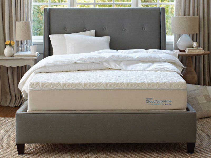 Mattress Cover For Tempur Pedic Bed ... type Specialty Foam Tempur-Pedic TEMPUR-Cloud Supreme Breeze Mattress