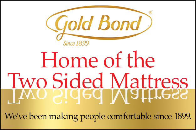 Home of the Two-Sided Gold Bond Mattress